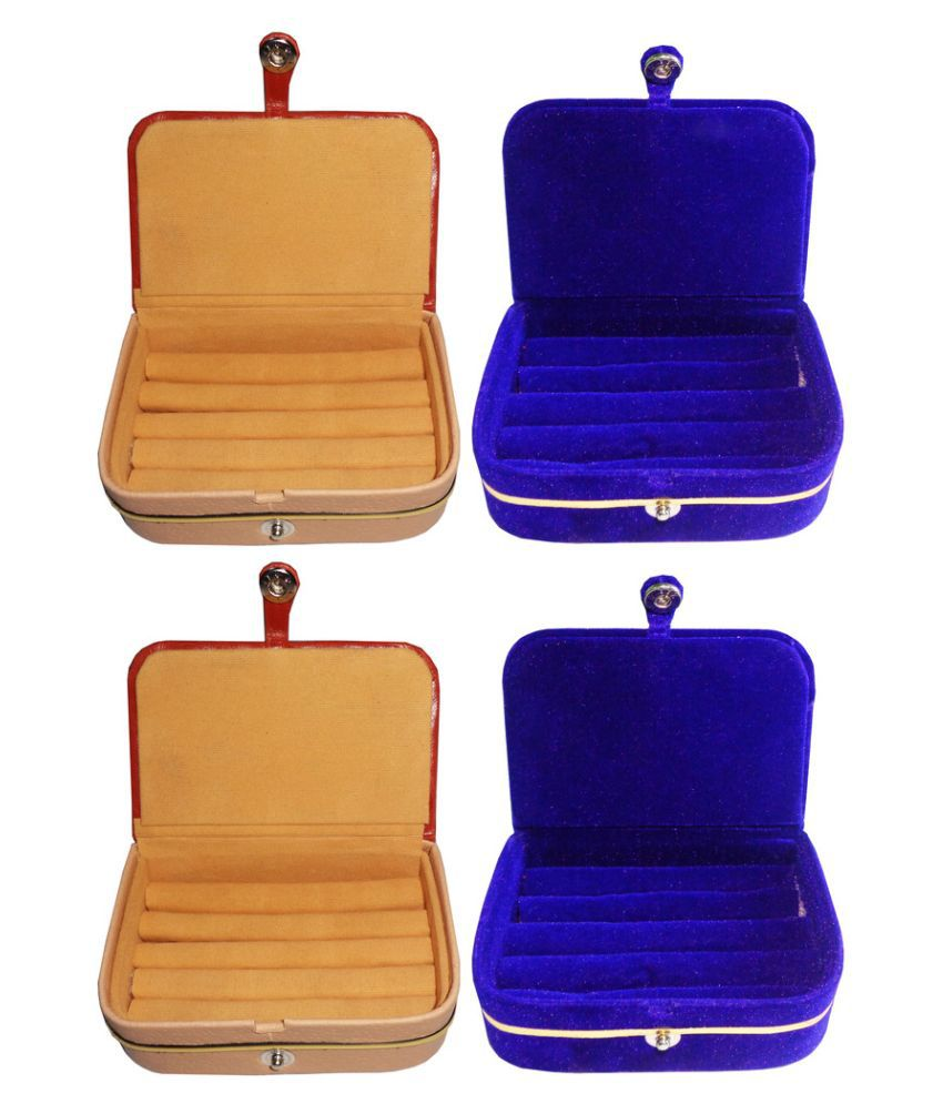 Abhinidi Multicolour Ring Boxes - Pack of 4