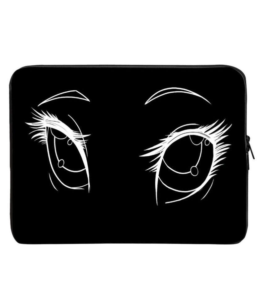 Panda Creation Black Laptop Sleeves