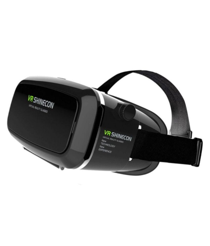 VR Shinecon Black Virtual Reality 3d Video Glasses