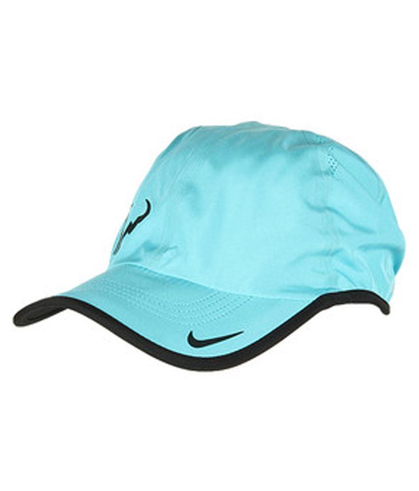 Nike Blue Cotton Cap for Men