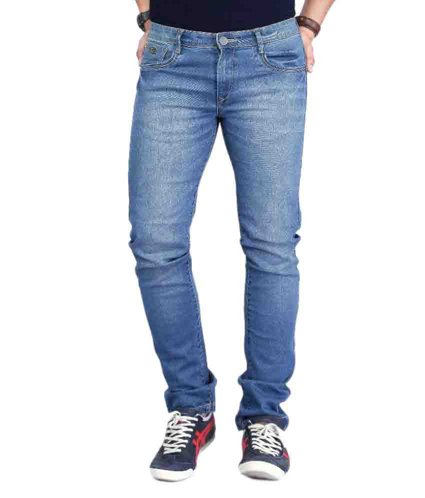 Nostrum Jeans Blue Slim Washed