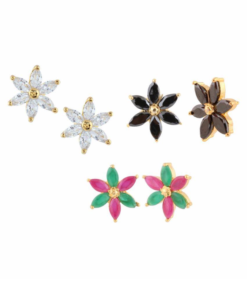 Parinaaz Multicolored Earrings