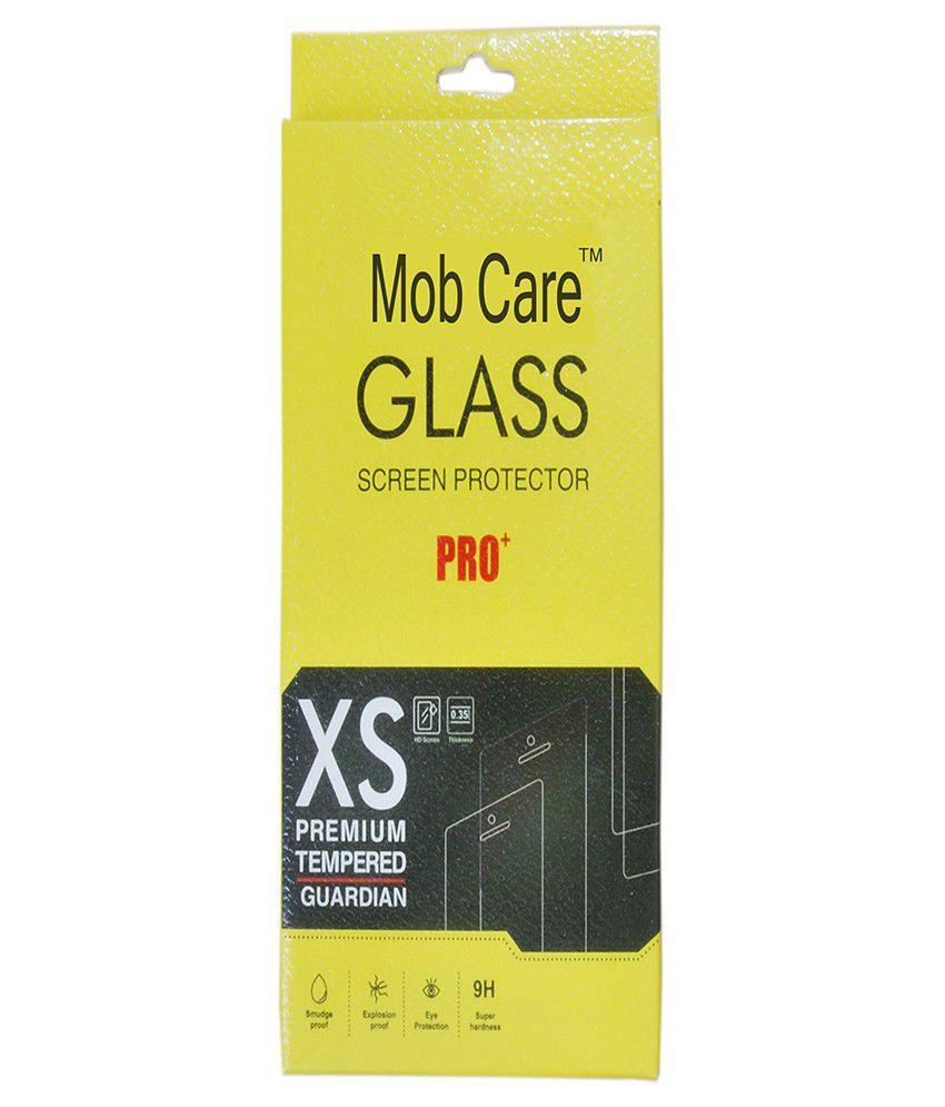 Intex Aqua Sense 5.0 Tempered Glass Screen Guard By Mob Care