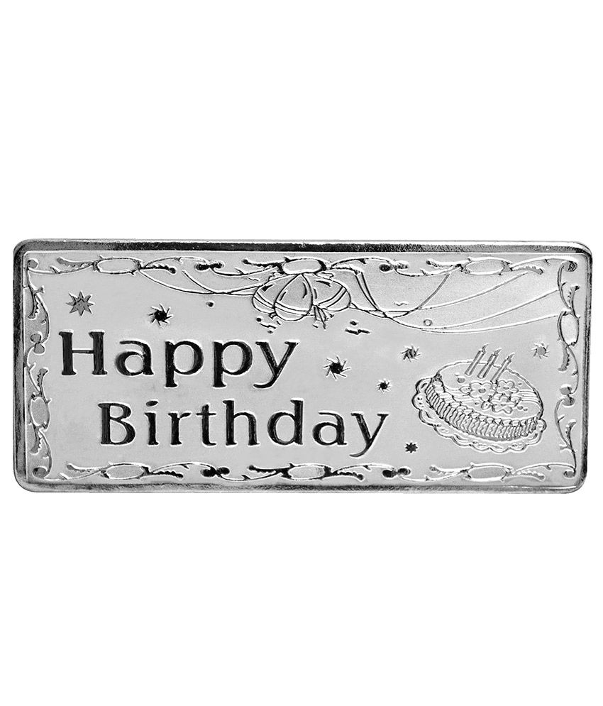 Shubham Motiwala BIS 999 Hallmark Certified Happy Birthday