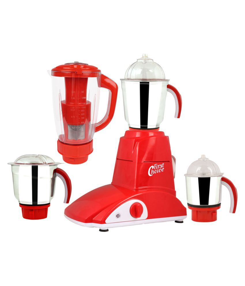 First choice MG16-686 4 Jars 1000W Juicer Mixer Grinder
