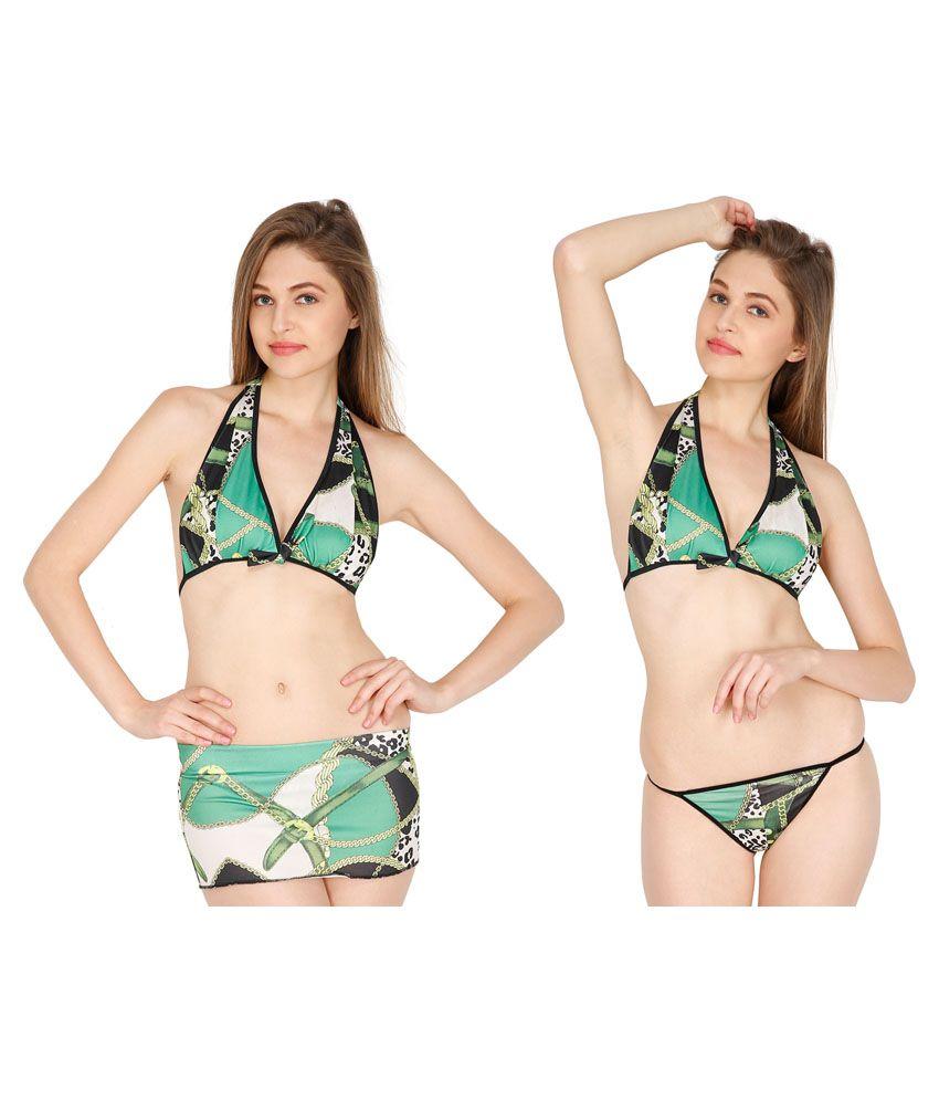 D Naked Multi Color Cotton Bra & Panty Sets