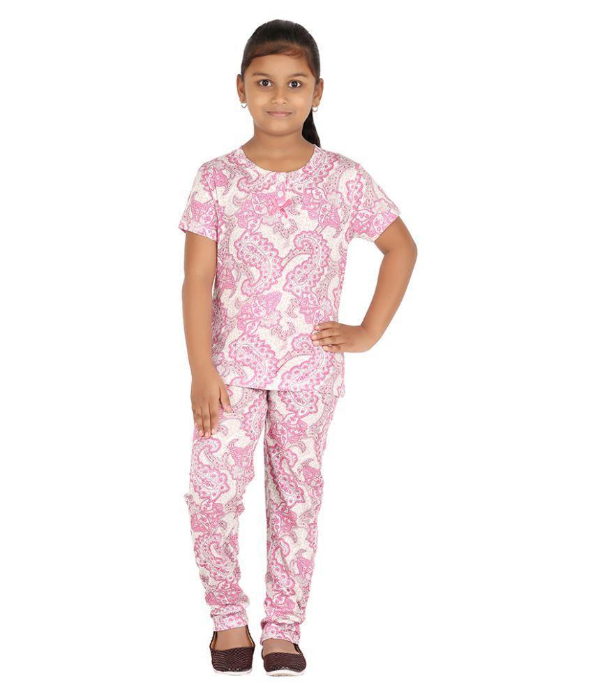 Fictif Pink Nightsuit