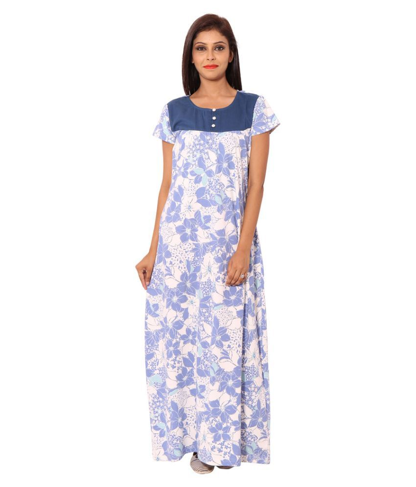 Buy cotton night dress online india