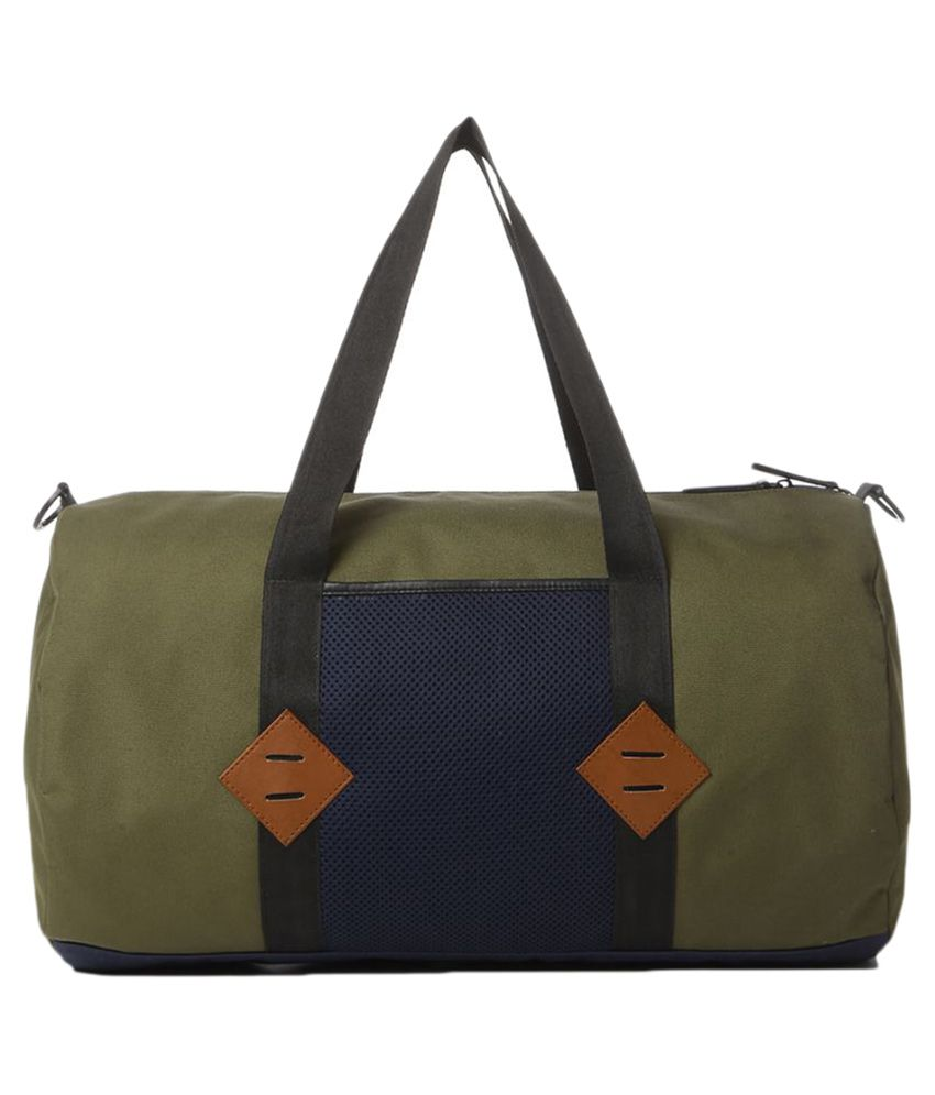 Atorse Green Gym Bag