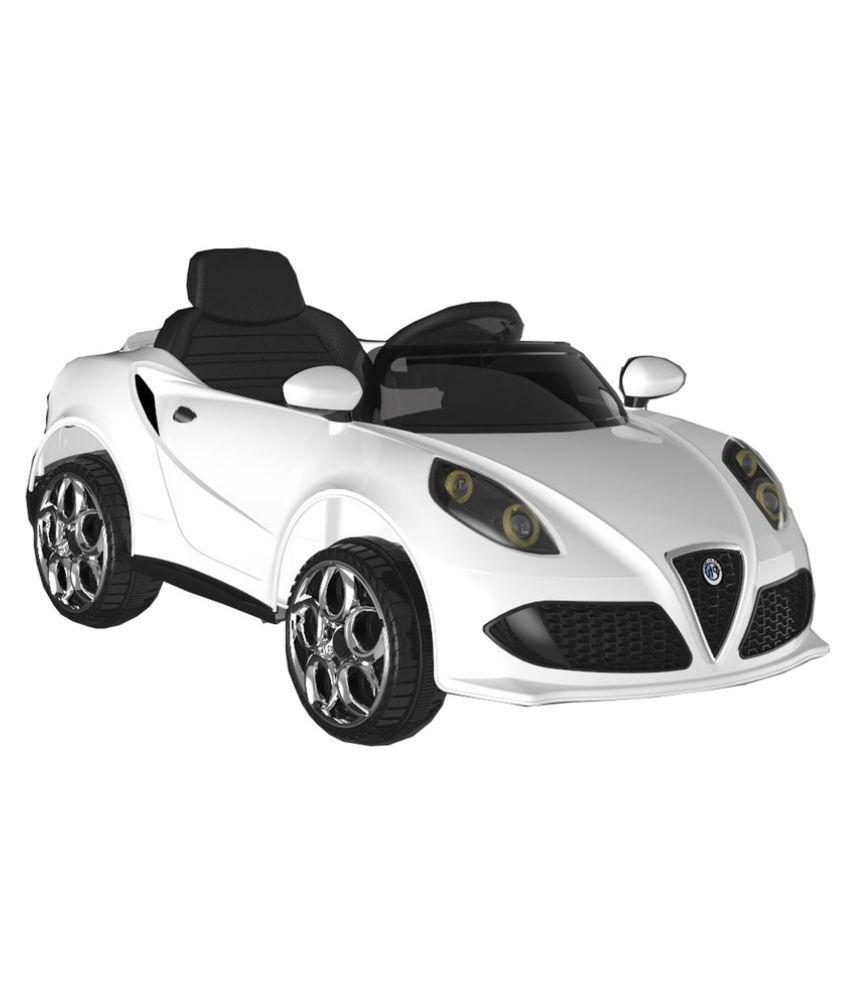 Attrayant Baybee Bugatti Veyron Ride On Car With R/C (White) ...