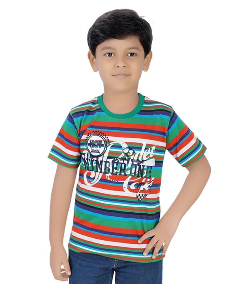 9df01953cb0 Viraj Multicolour Cotton T Shirt available at SnapDeal for Rs.295