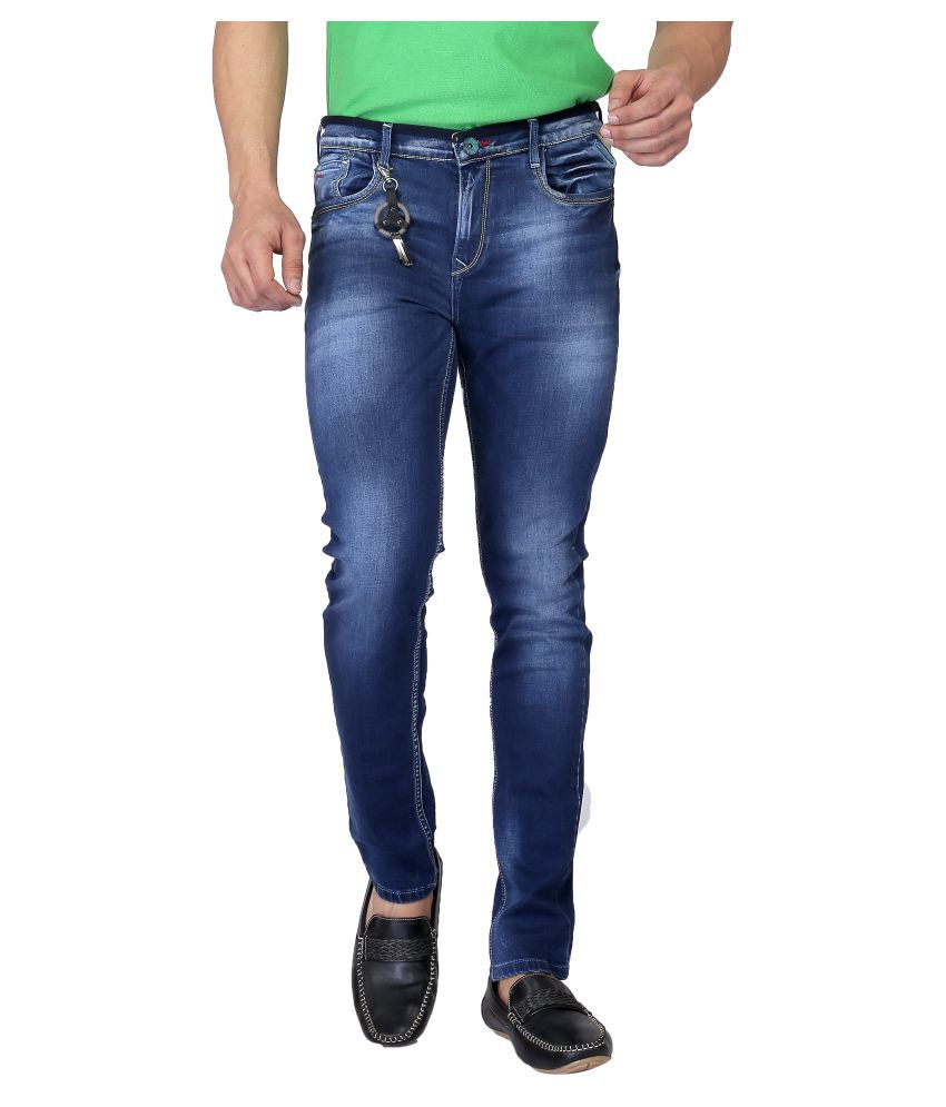 Nostrum Jeans Blue Slim Washed