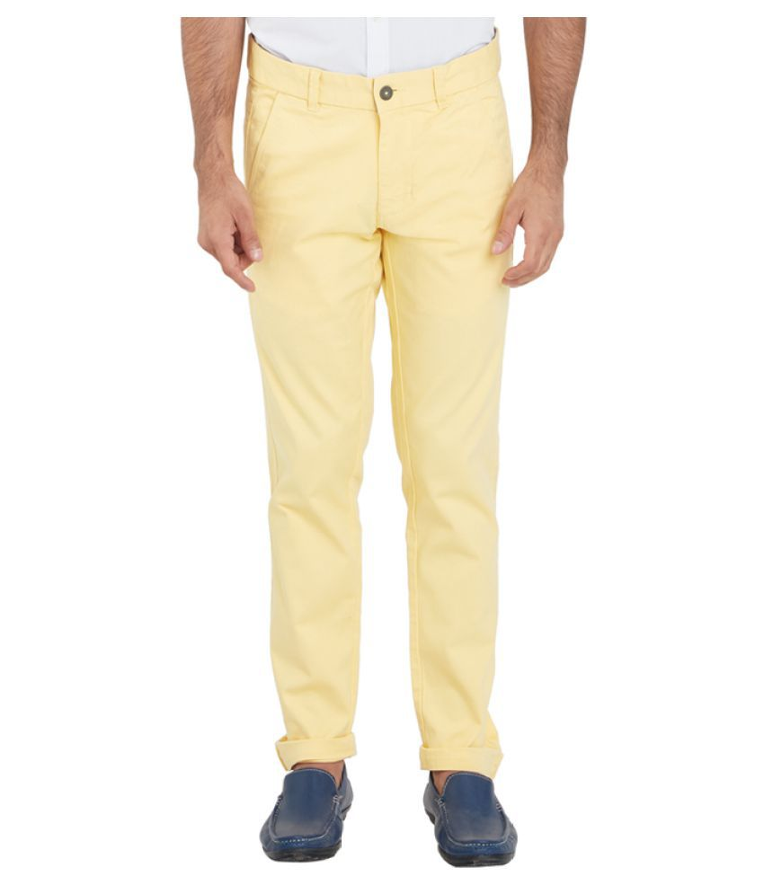 Parx Yellow Regular Flat