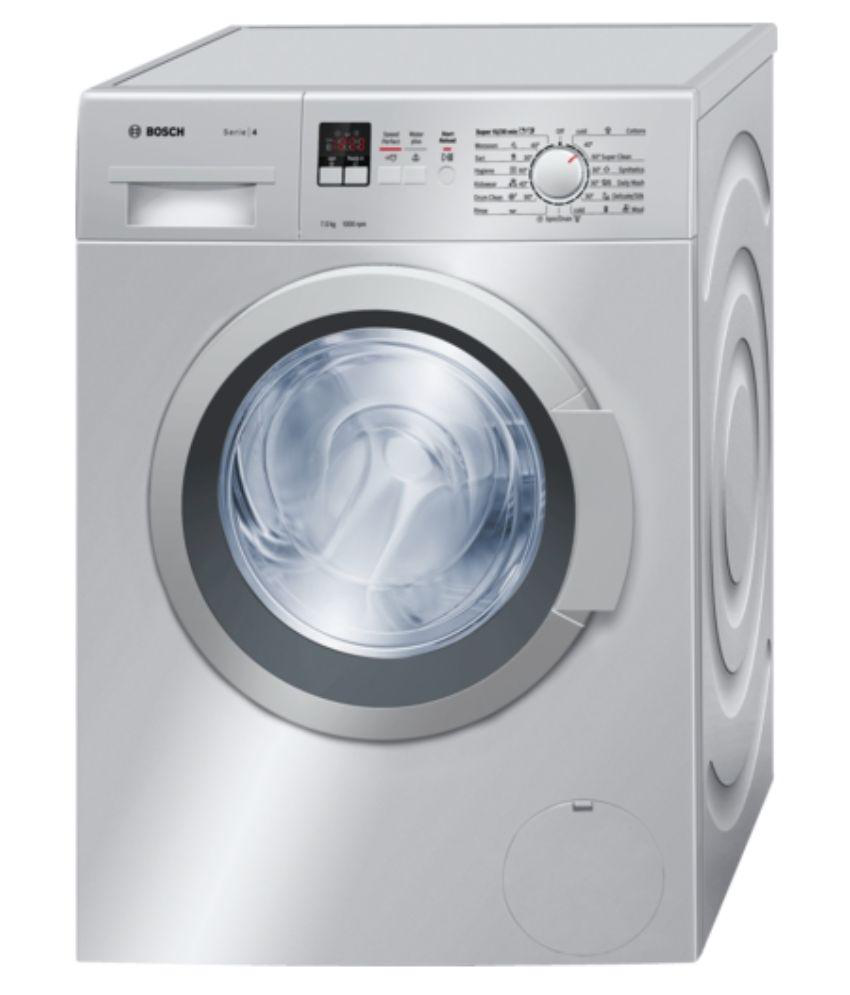 Bosch 7 WAK20168 Fully Automatic Front Load Washing Machine Silver