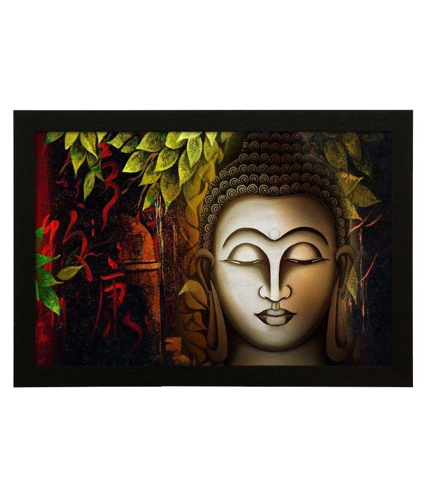Delight Art Frame MDF Art Prints With Frame Single Piece