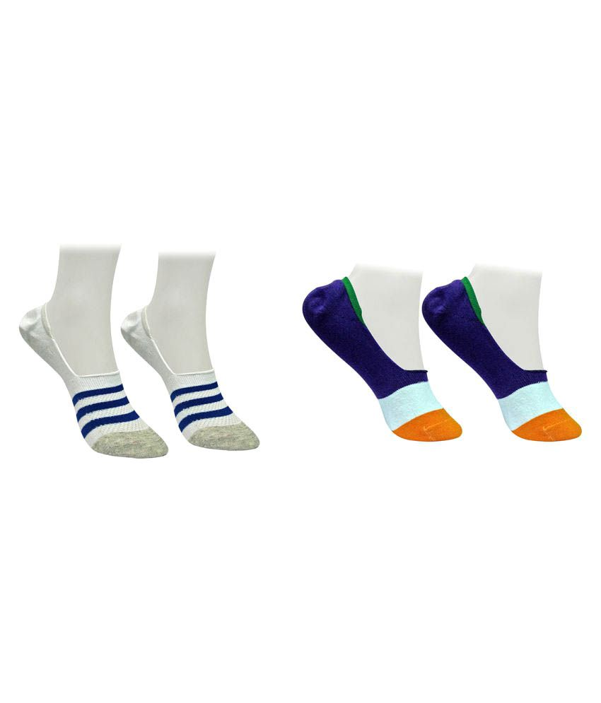 Gold Dust Multicolour Low Cut Socks - 2 Pair Pack