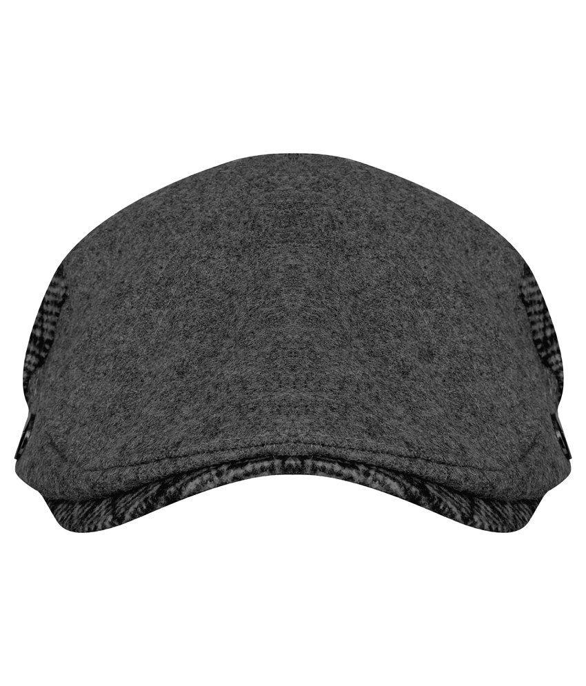 FabSeasons Grey Golf Flat Cap - Buy Online   Rs.  bc1788c4ac3