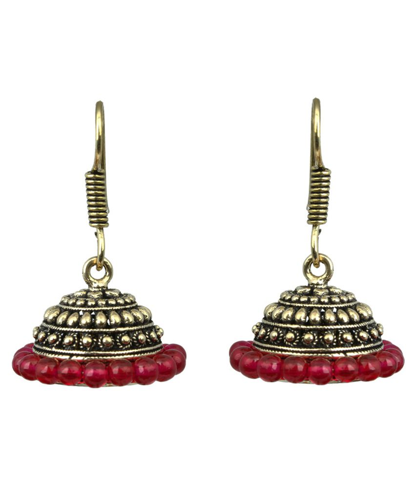 Waama Jewels Multicolour Jhumkis