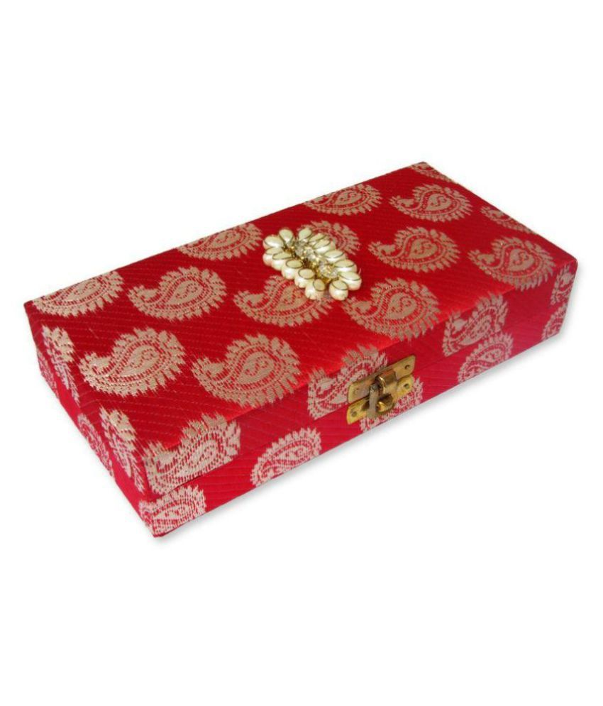 Weddingpitara Wooden Jewellery Box