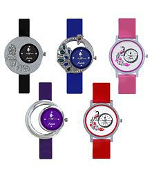 Frida New Latest Beautiful Designer Multi Color Analog Best Offer Deal Classical Wrist Watch For Girls Womens and Ladies
