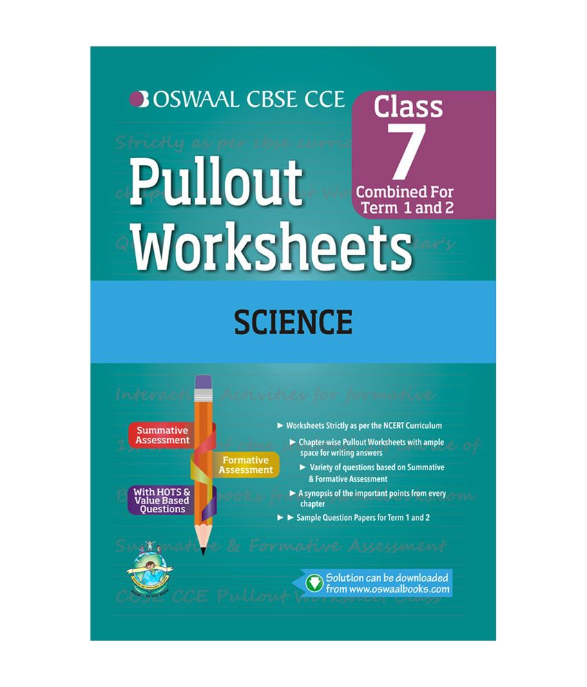oswaal cbse cce pullout worksheets science for class 7 buy oswaal cbse cce pullout worksheets. Black Bedroom Furniture Sets. Home Design Ideas