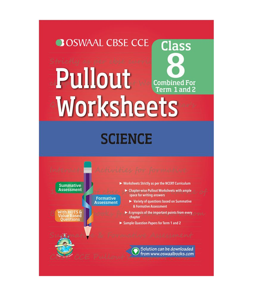 Oswaal CBSE CCE Pullout Worksheets Science For Class 8: Buy Oswaal ...