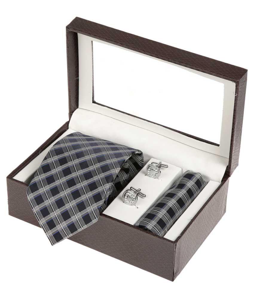 Sir Michele Multi Formal Necktie with Cufflink