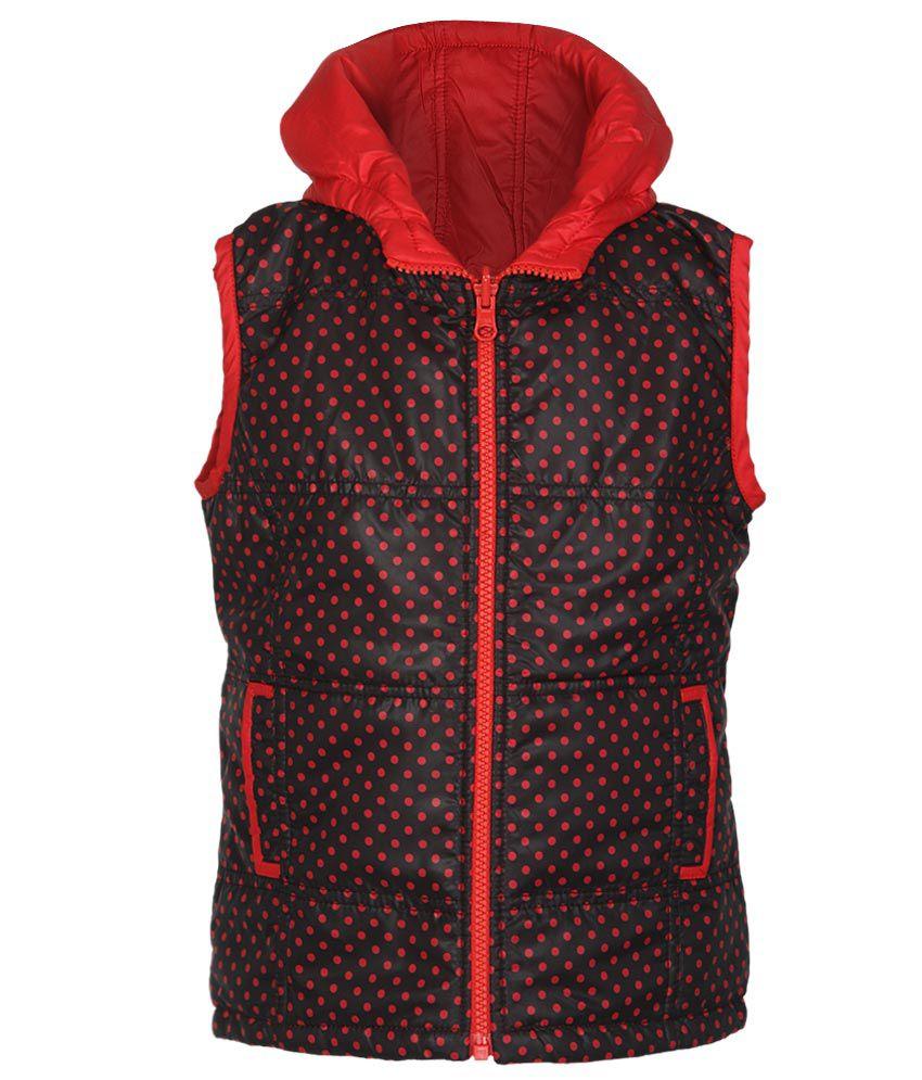 612 League Red & Black Reversible Hooded Jacket
