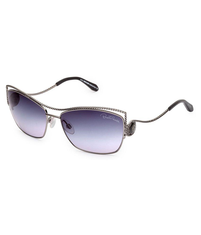 fdd05da86 Roberto Cavalli Blue Rectangle Sunglasses ( RC VAHANGA 724S 08B 61 ) - Buy Roberto  Cavalli Blue Rectangle Sunglasses ( RC VAHANGA 724S 08B 61 ) Online at ...