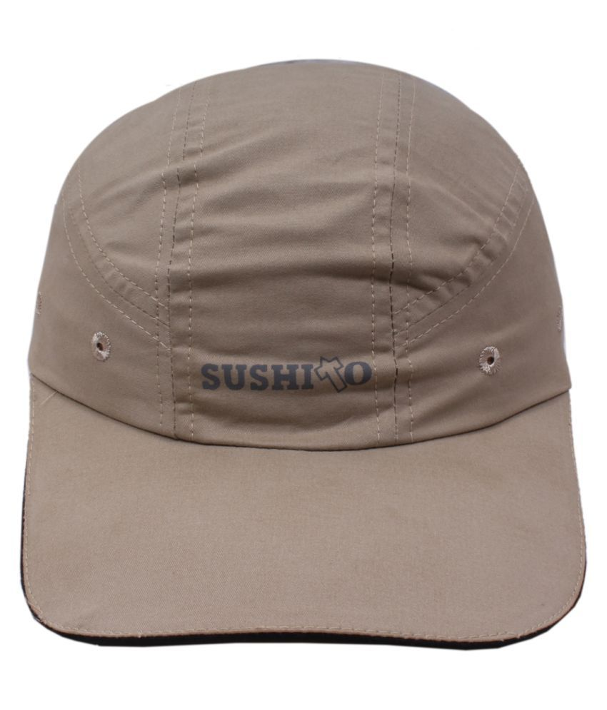 Jstarmart Grey Polyester Baseball Cap