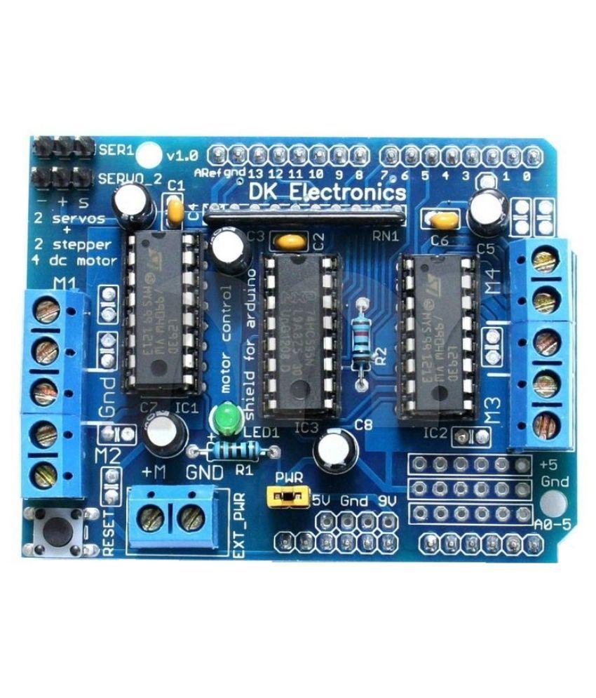 Sunrobotics l293d motor driver shield for arduino buy for L293d motor driver price