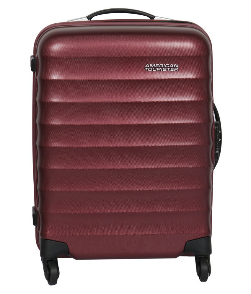 American Tourister Maroon Check-in Luggage Trolley - Large (Above 70 cm) -  Buy American Tourister Maroon Check-in Luggage Trolley - Large (Above 70  cm) ... 74b1fa90d