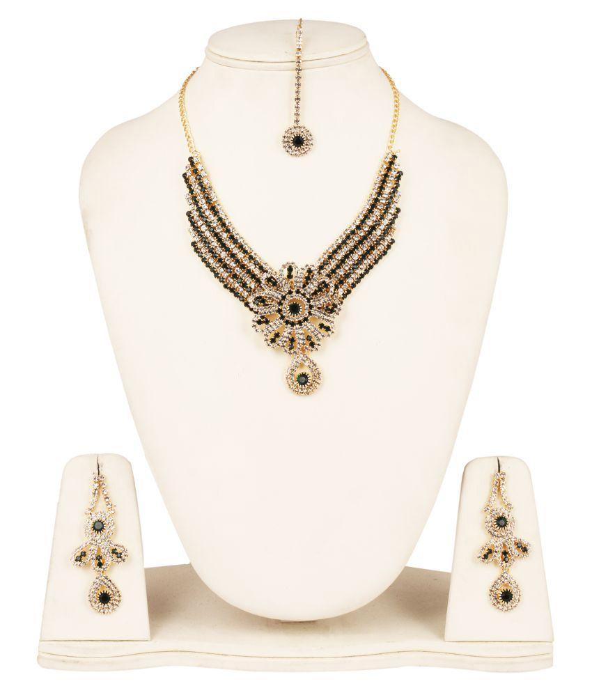 Fanvi Multicolour Necklace Set