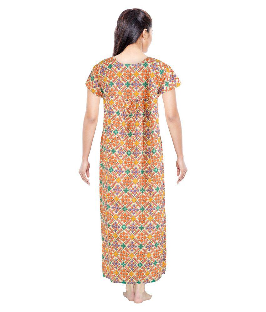 3fc2fffa Five S Multi Color Cotton Nighty & Night Gowns