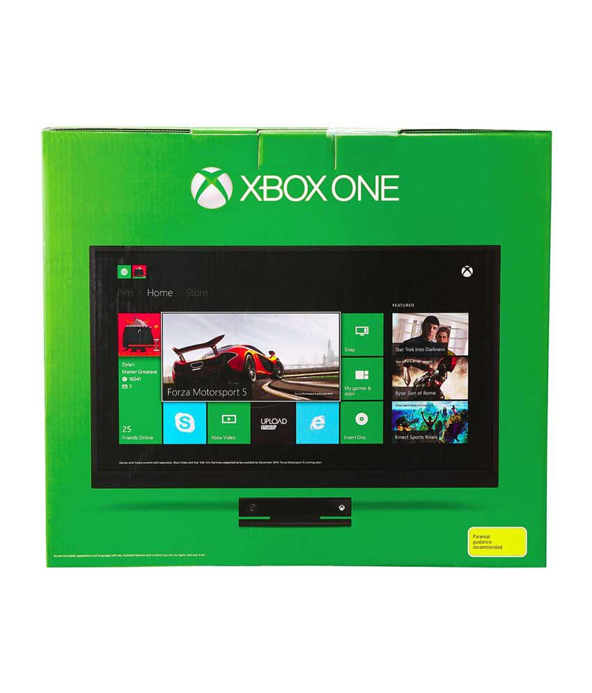 Microsoft Xbox One Console with Kinect