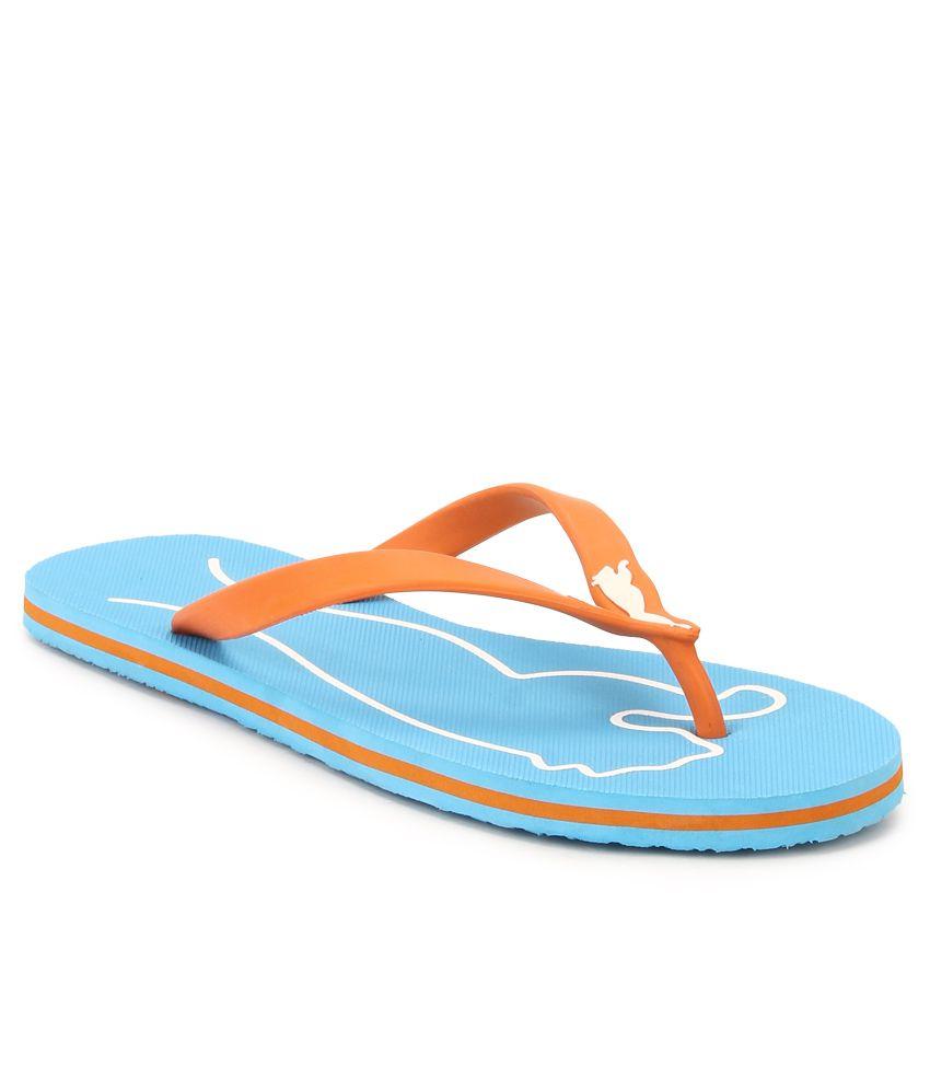 Puma Blue & Orange Lucie 4 Wn s DP Flip Flops