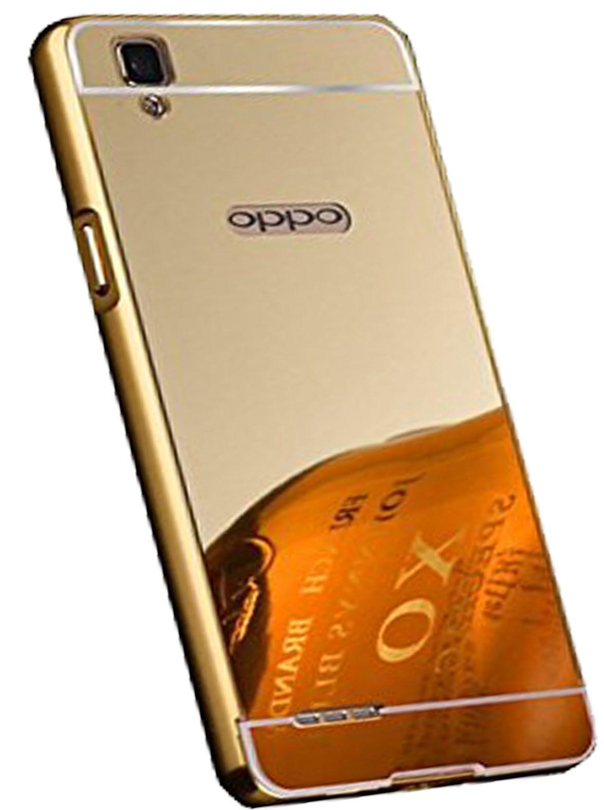 purchase cheap 5d1de 957a6 Oppo F1 Plus Cover by JKR - Golden