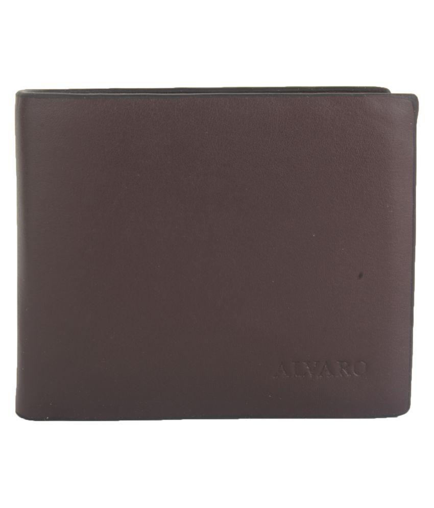 Alvaro Castagnino Brown Fashion Short Wallet