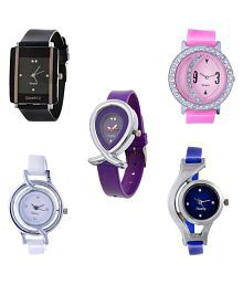 Glory Multicolor Analog Watch - Pack of 5