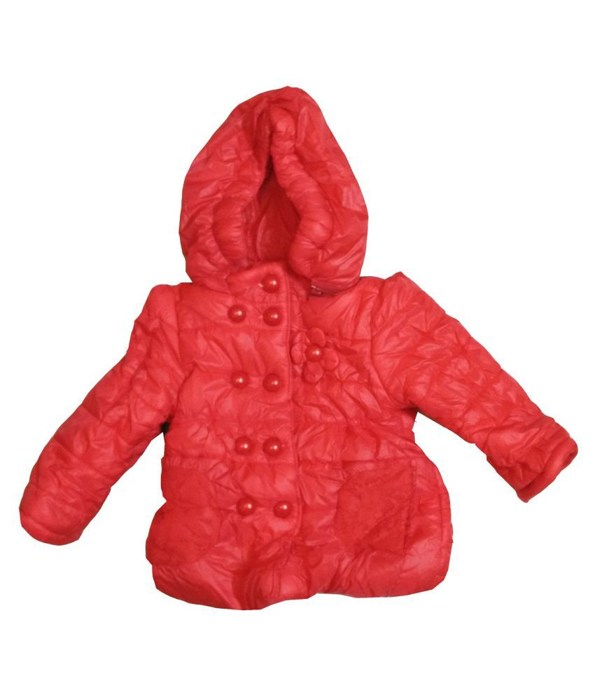 Assent Store Red Polyester Jacket