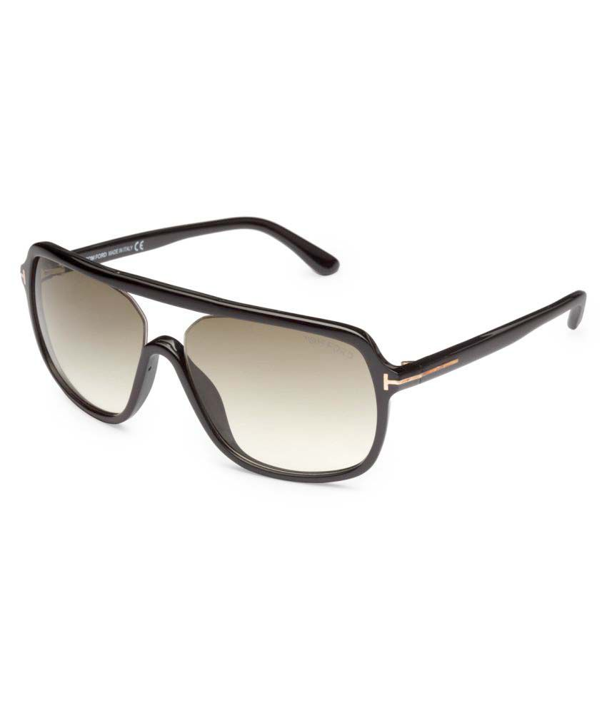 434af131eb Tom Ford Brown Rectangle Sunglasses ( ROBERT 442 01N