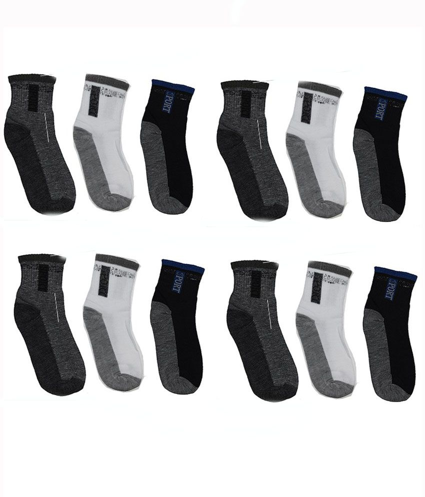 Ishaya Stores Multi Casual Ankle Length Socks