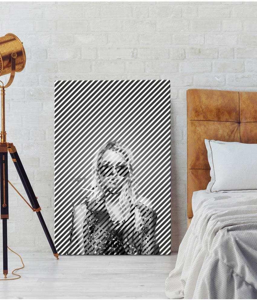 The High Wall - I Am Fashion - Wall Art Canvas - 12x18inch