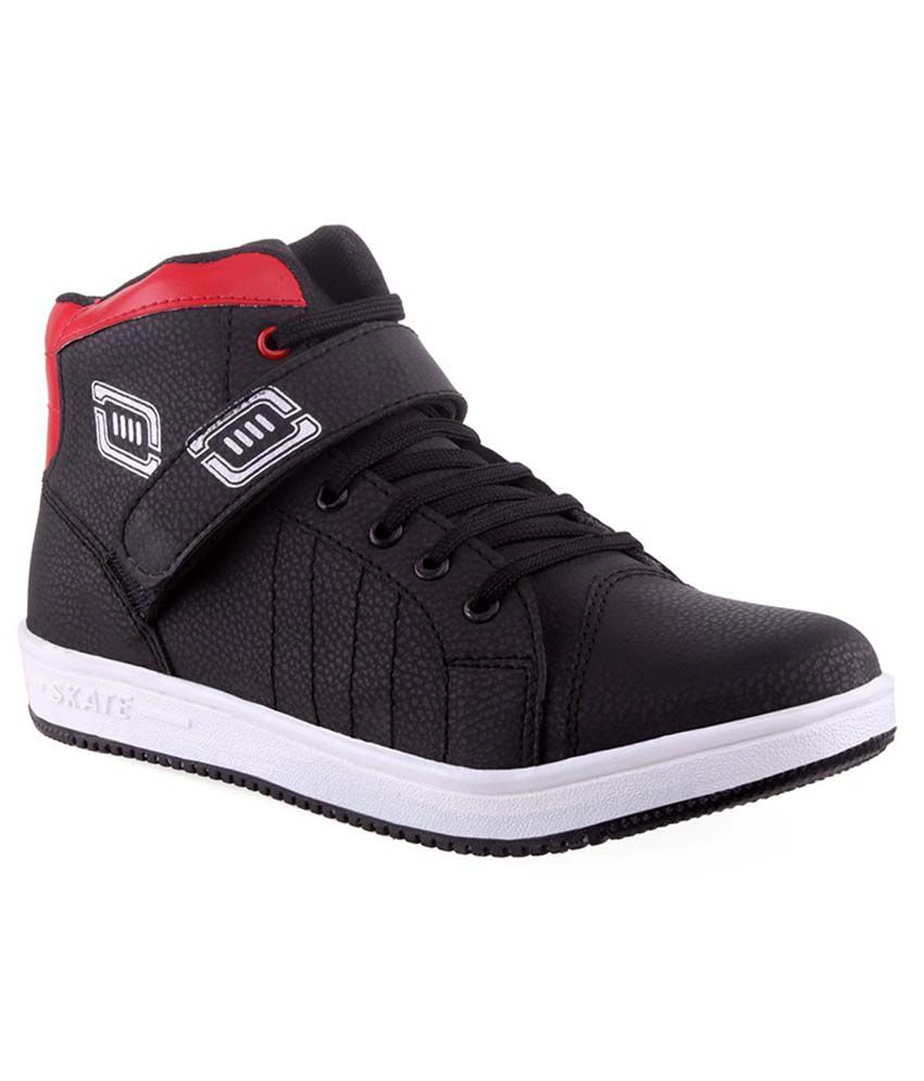 Fashion Victory Black Smart Casuals Shoes