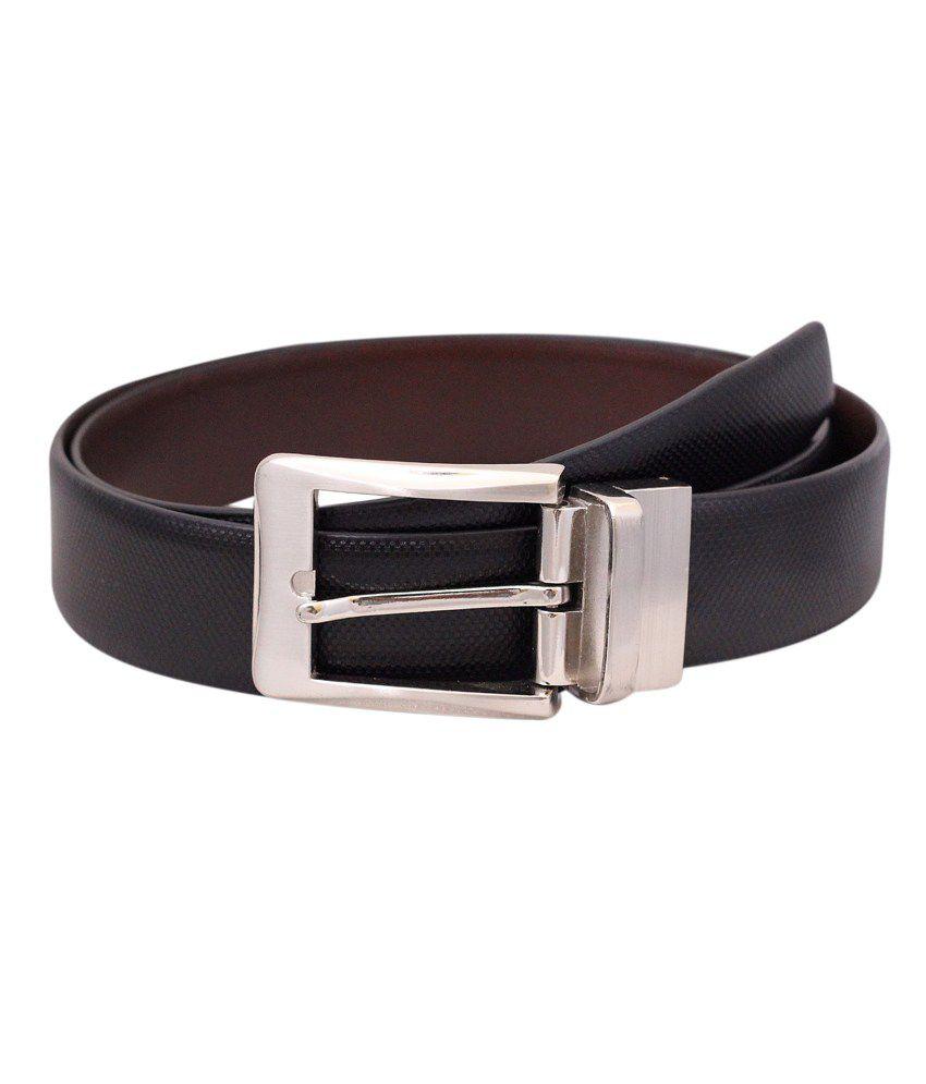 Herrero Black Leather Belt
