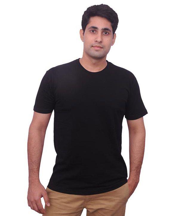 Palti Black Cotton T-Shirt