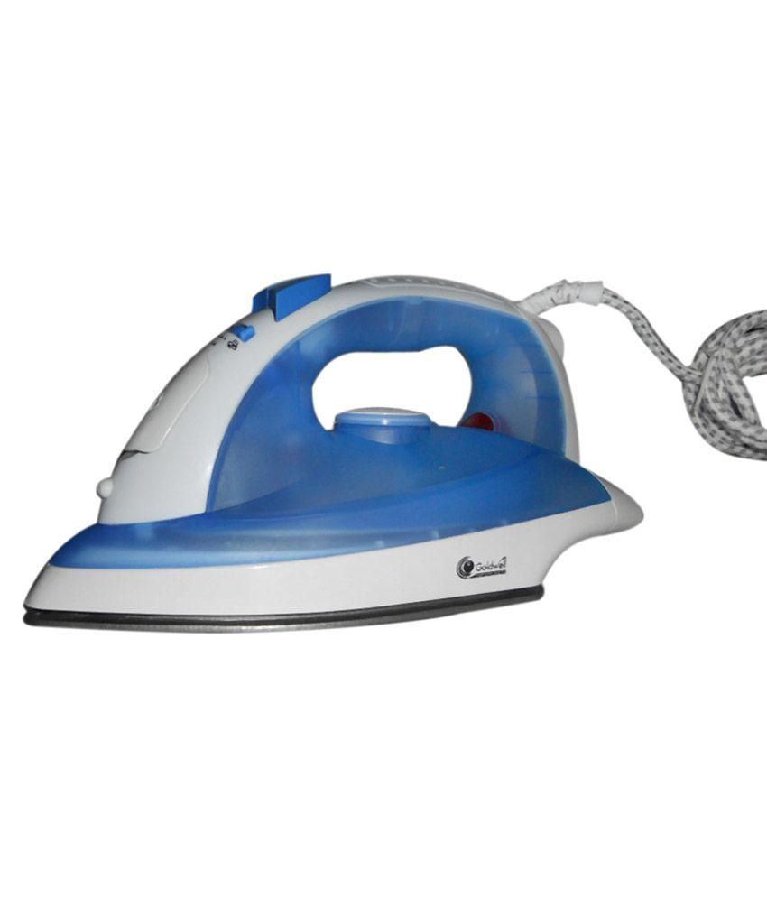 Goldwell GW155 Steam Iron White & Blue