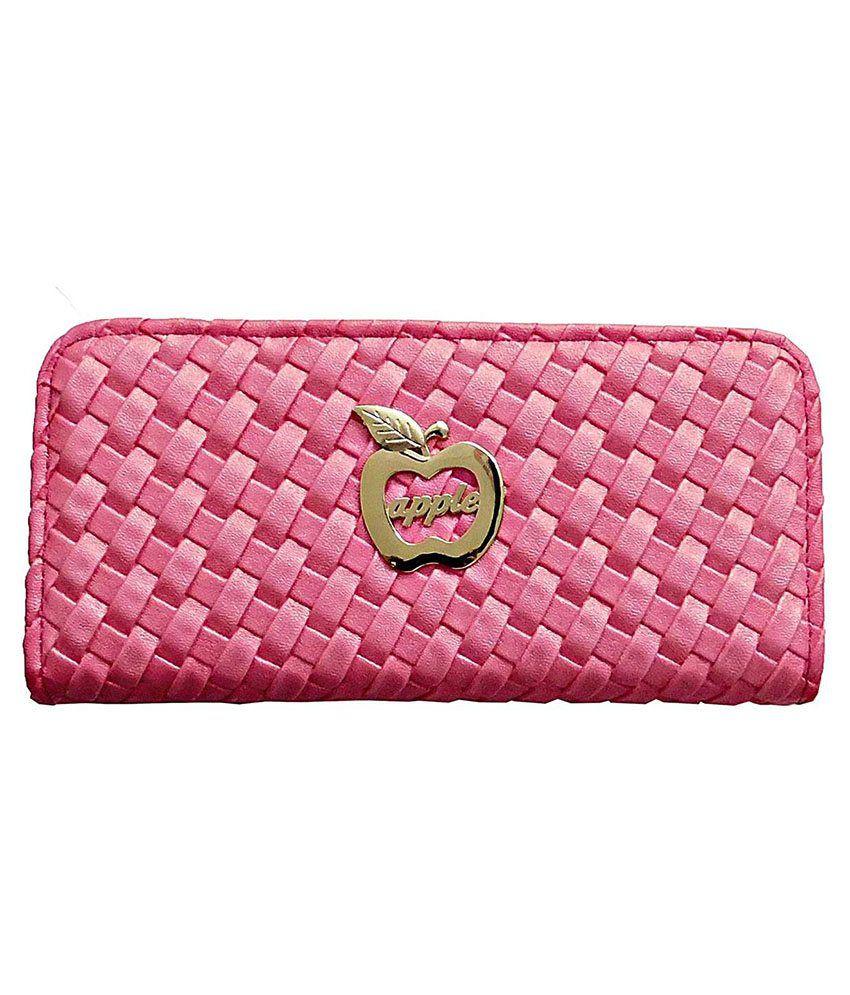 Samco Fas Pink Designer Clutch