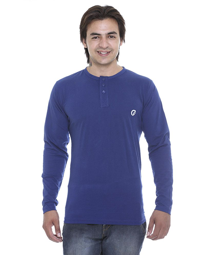 Cee - For Blue 100 Percent Cotton T-Shirt