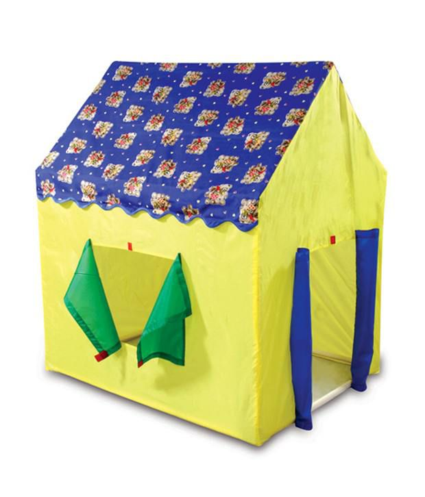Cuddles Play Tent House Blue And Yellow